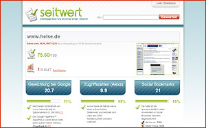 Website Analyse Seitwert.de