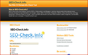Website Analyse Seo-Check.info