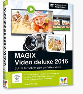 Magix Video deluxe 2016 - Buch-Vorstellung