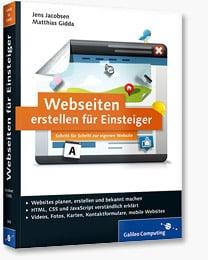 Webseiten erstellen für Einsteiger - Buch-Review