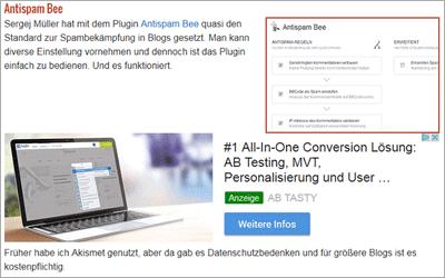 Geschäftsmodell Online-Werbung