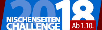 Nischenseiten-Challenge 2018