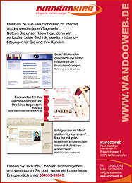 Offline Marketing Flyer Handzettel