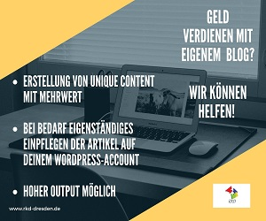 Blogbetreuung per WordPress