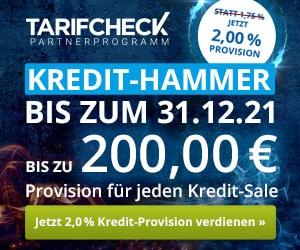 TarifCheck24 Kredit Hammer
