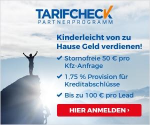 TarifCheck24 Versicherungpartnerprogramm