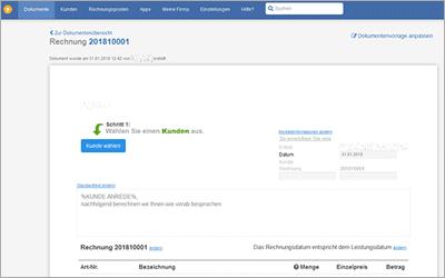 Kunden, Angebote und Rechnungen online verwalten