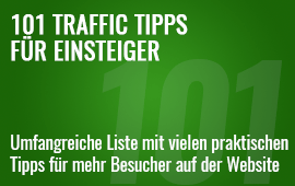 101 Traffic Tipps für Einsteiger