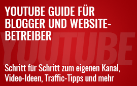 YouTube Guide für Blog- und Website-Betreiber