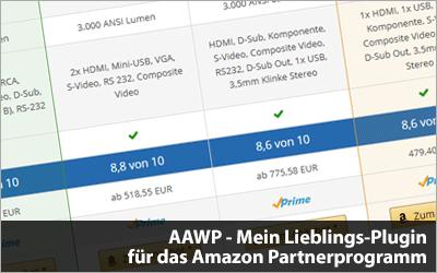 AAWP - Mein Lieblings-Plugin für das Amazon Partnerprogramm