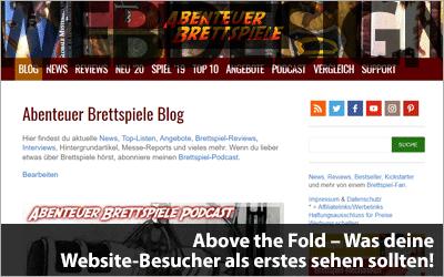 Above the Fold - Was deine Website-Besucher als erstes sehen sollten!
