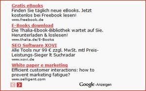 AdSense Alternativen - CPC in Deutschland