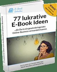 77 lukrative E-Book Ideen