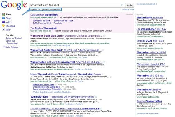 Suchergebnisse für Wasserbett Suma Blue Dual