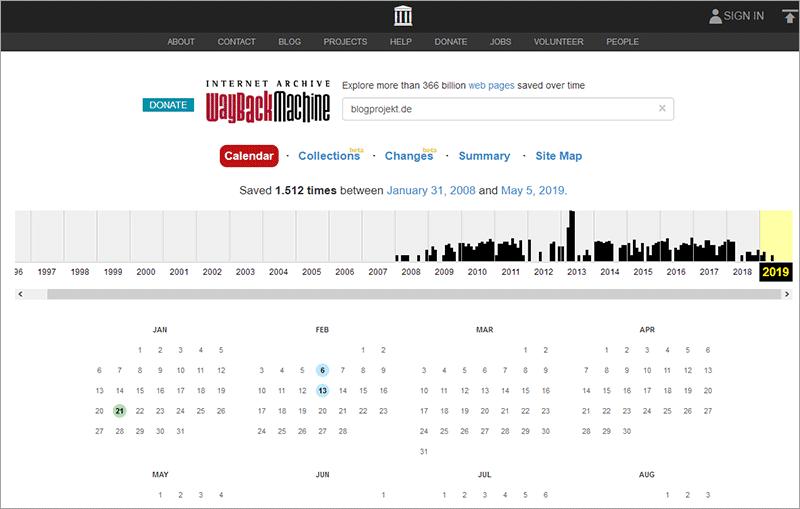 So findest du eine alte Domain für deine neue Website
