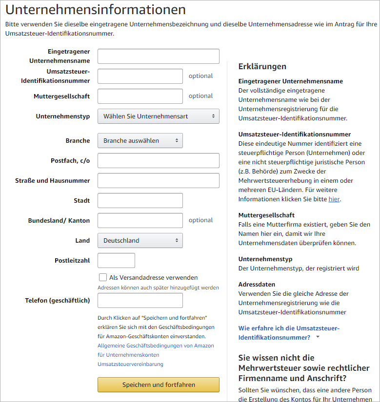 Amazon Business - Lohnt sich der Service für Selbstständige?