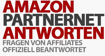 Newsletter, Vereinsbestellungen, Vorschaubild ... - Antworten vom Amazon PartnerNet 5