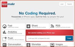 iPhone App mit appmakr.com - Erfahrungen und Tipps
