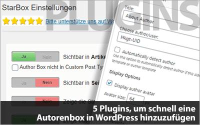 Autorenbox in WordPress: 5 Plugins, um schnell eine Autorenbox hinzuzufügen