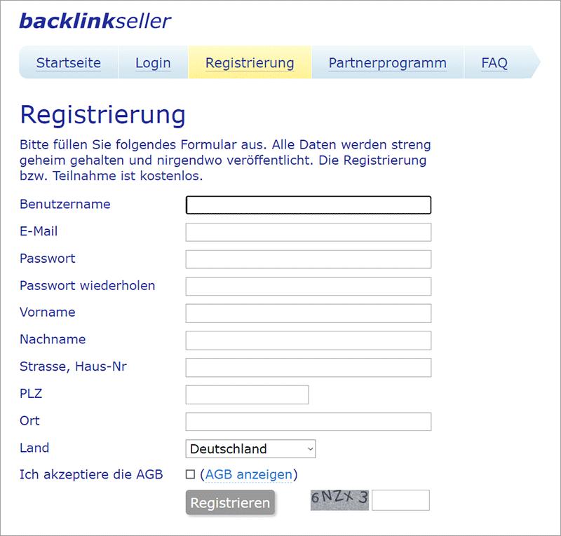 Backlinkseller - Geld verdienen mit Backlinks?!