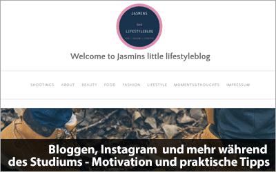Bloggen, Instagram  und mehr während des Studiums - Motivation und praktische Tipps