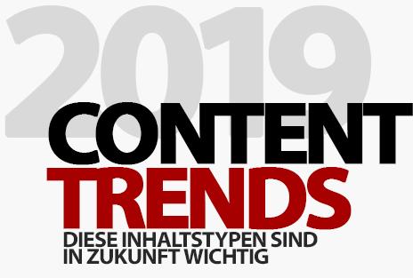 Content-Trends: Diese Inhaltstypen sind in Zukunft wichtig