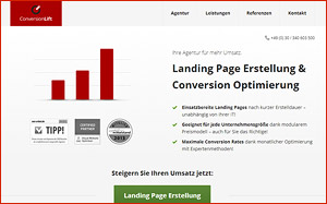 Tipps zu Landing Pages und Conversion Optimierung