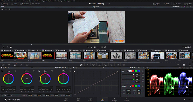 DaVinci Resolve - Color