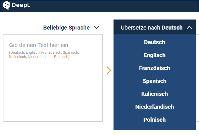 deepl übersetzer app
