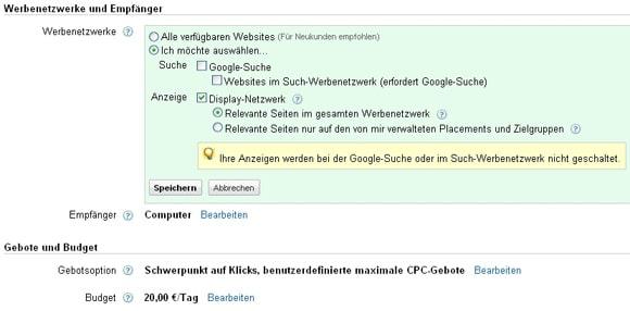 Traffic mit dem Google Display Netzwerk?!