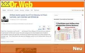 drweb.de hat neuen Besitzer