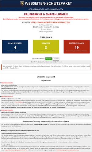 DS-GVO gerechte Website - Schritt 1: Die Analyse