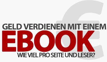 Wie viel verdient man mit einem eBook pro Seite und Leser?