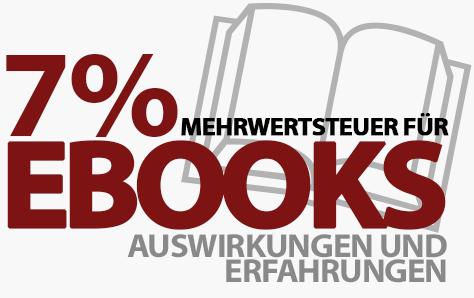Mehrwertsteuer auf eBooks von 19% auf 7% gesenkt