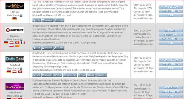 AdCell Partnerprogramme - die wichtigsten Informationen - Make Money Monday
