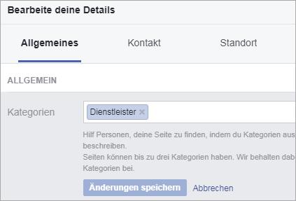 So habe ich den Facebook Haken bekommen