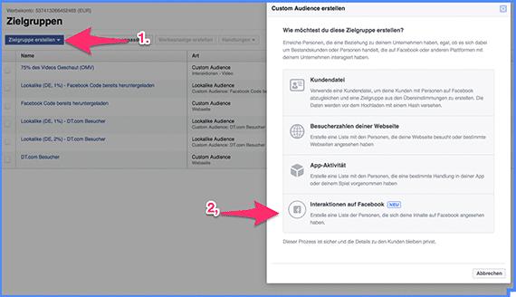Wie du schnell und einfach deine Zielgruppe für Facebook Werbung findest