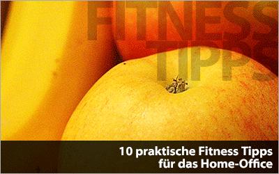 10 praktische Fitness Tipps für das Home-Office