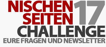 Eure Fragen und der offizielle Newsletter zur Nischenseiten-Challenge 2017