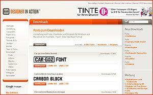 Free Font - kostenlose Schriften