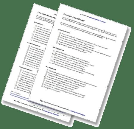 Checklisten für Existenzgründer – Geschäftsidee & Analyse