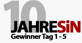 10 Jahre Selbstaendig-im-Netz.de - Gewinner Tag 1 bis 5