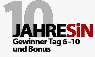 10 Jahre Selbstaendig-im-Netz.de Verlosungen - Die Gewinner von Tag 6 bis 10 plus Bonus