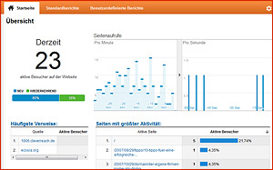 Nutzung von Statistik- und SEO-Analyse-Tools