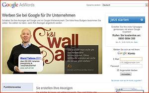 Google für Selbständige - AdWords