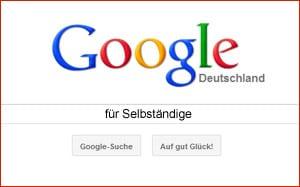 Google für Selbständige - Mehr als nur eine Suchmaschine