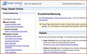 Google für Selbständige - Page Speed