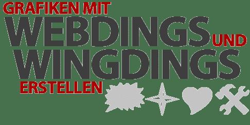 Eigene Grafiken mit Webdings und Wingdings erstellen + Cheatsheet