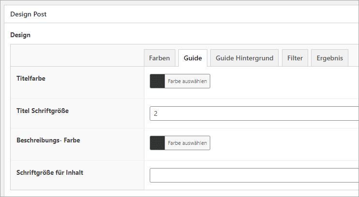 GuidePlugin - So erstellst du einen Produktberater in WordPress