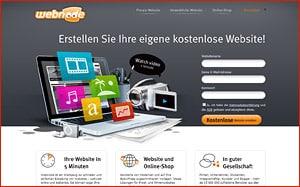 Homepage Baukasten Test - Webnode